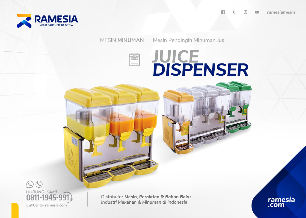 Juice Dispenser Banner