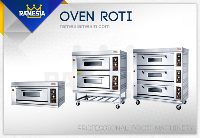 Oven Roti Gas vs Listrik
