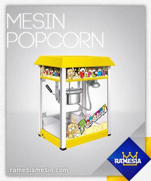 Mesin Popcorn Murah Ramesia