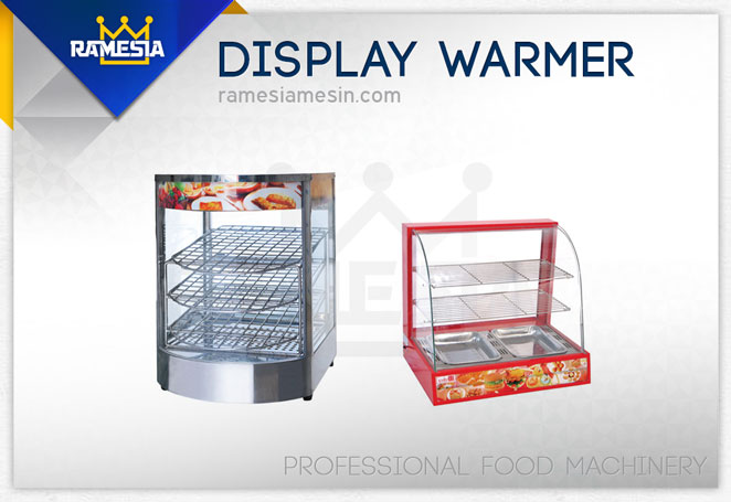 Mesin Showcase Warmer, display warmer