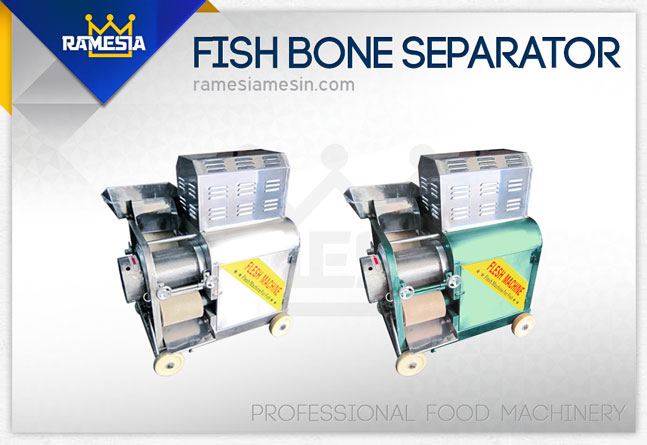 Mesin Pemisah Tulang Ikan
