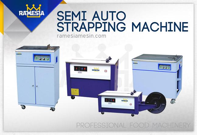 Mesin Strapping Semi Auto