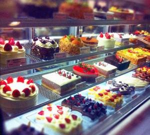 Cake Showcase Display Cooler