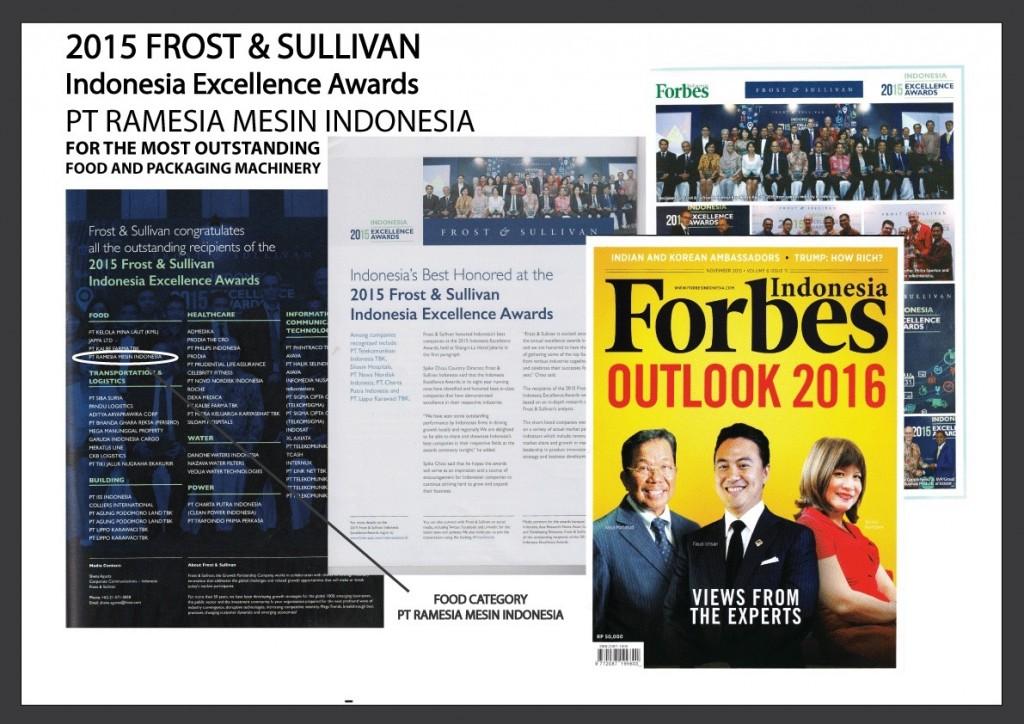 Event Kegiatan Penghargaan Forbes Ramesia