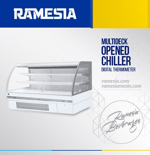 Chiller Multi Deck Opened