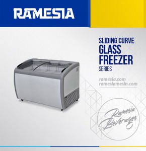 Ramesia-Sliding-Curve-Glass-Freezer-SD-360BY