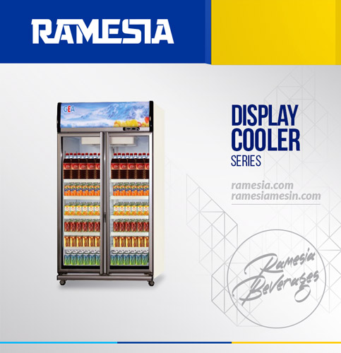Display Cooler Ramesia 2 Pintu