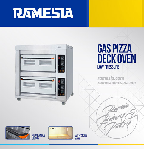 Oven Pizza Gas Ramesia