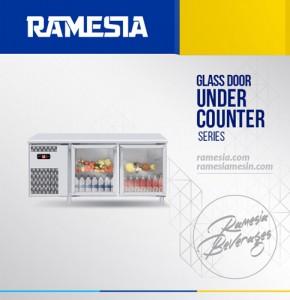 Glass Door Under Counter