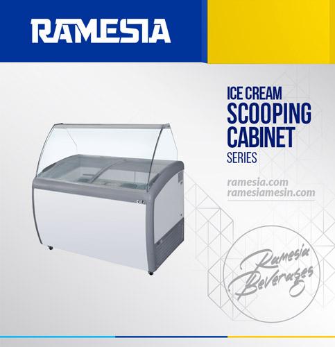 Ice Cream Scooping Cabinet 360