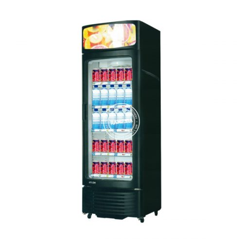 display cooler single door