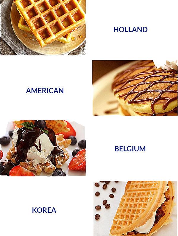 Macam-macam mesin waffle