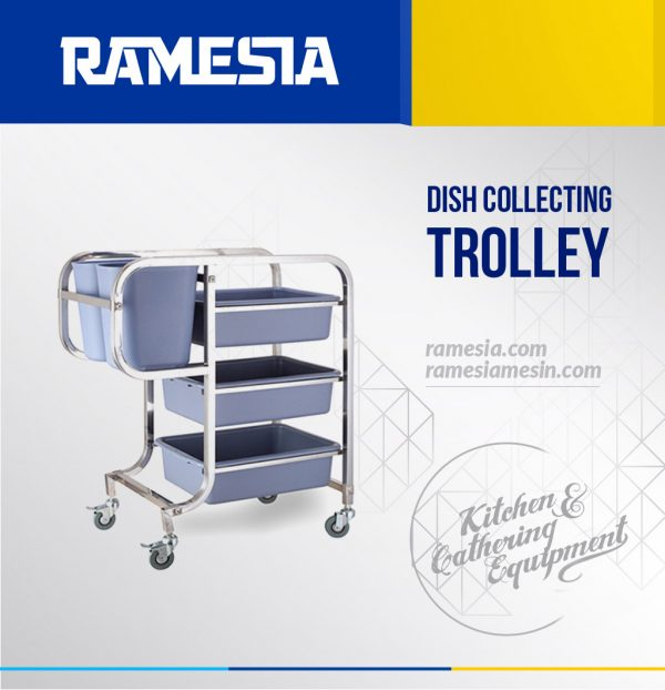 Dish Collecting Trolley DCT 31