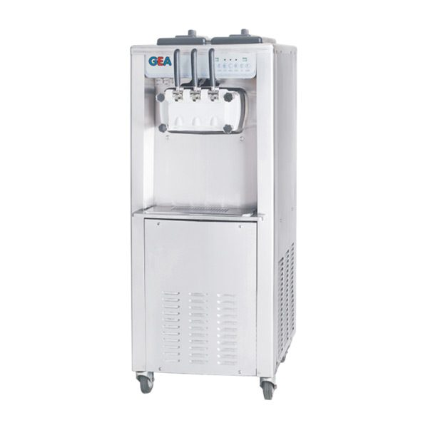 Gea Soft Ice Cream Machine 3 Handle Standing