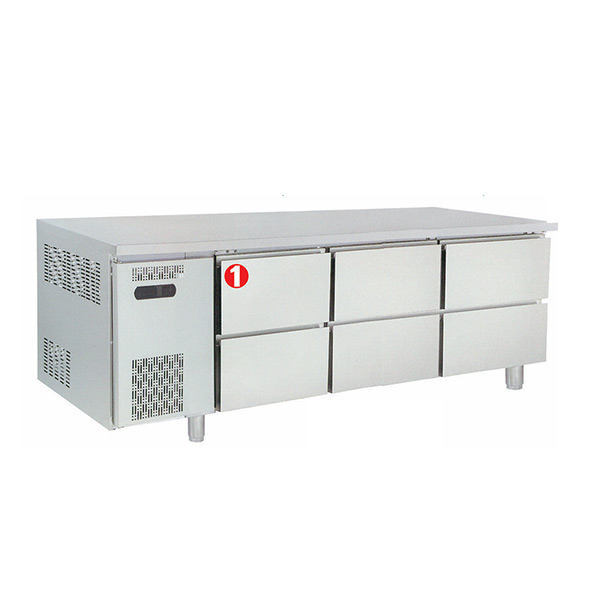Under Counter With Drawer MGCR-180XHHH