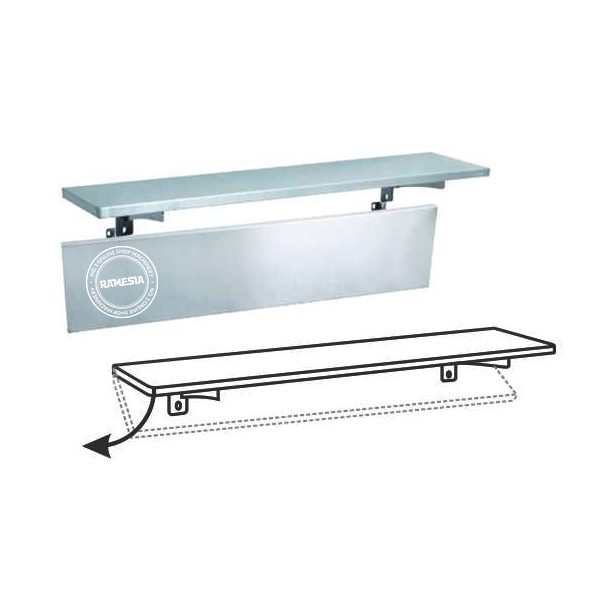 Solid-Wall-Shelf-WSF-Series