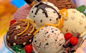 Produk Ice Cream Scooping Cabinet