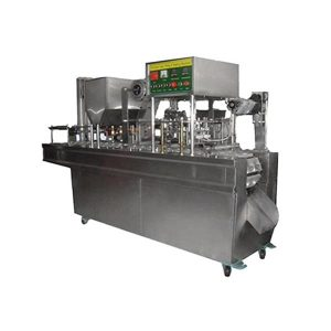 Alat Pres Gelas Plastik Auto Cup Sealing Machine GD-2-Line