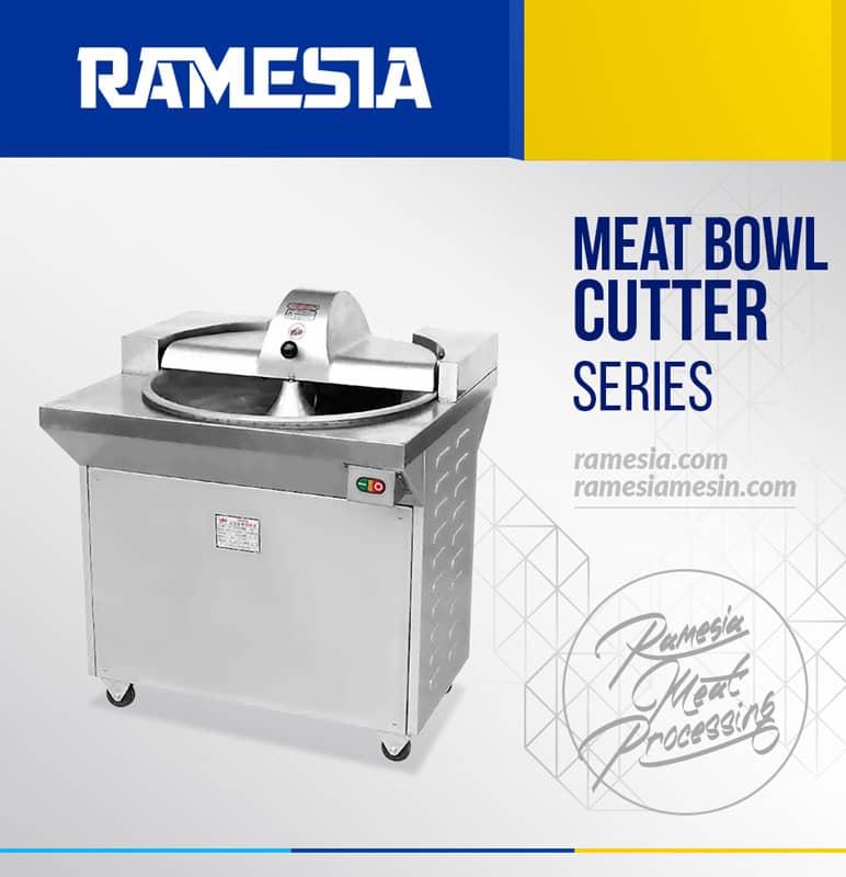 Model, Spesifikasi, dan Harga Bowl Cutter dan Mesin Giling Daging Bakso