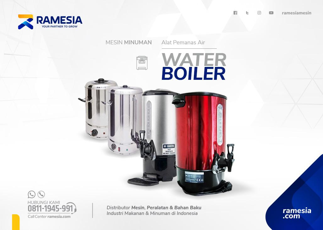 WATER BOILER BANNER