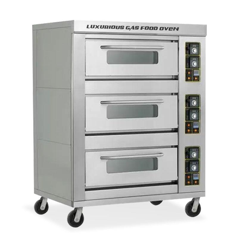 gas oven 3 dek 6 pan primax