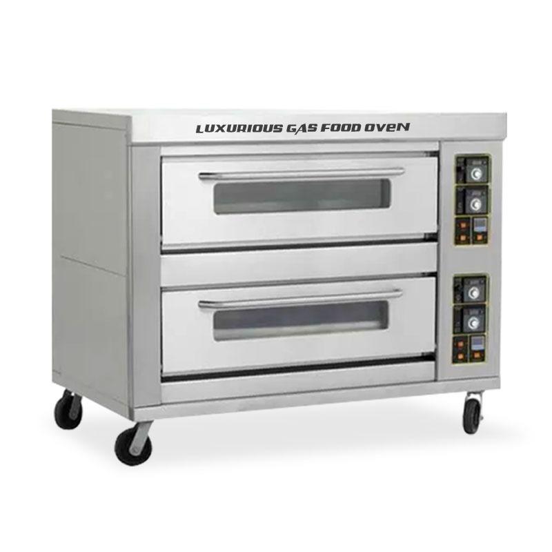 gas oven 2 dek 4 pan primax