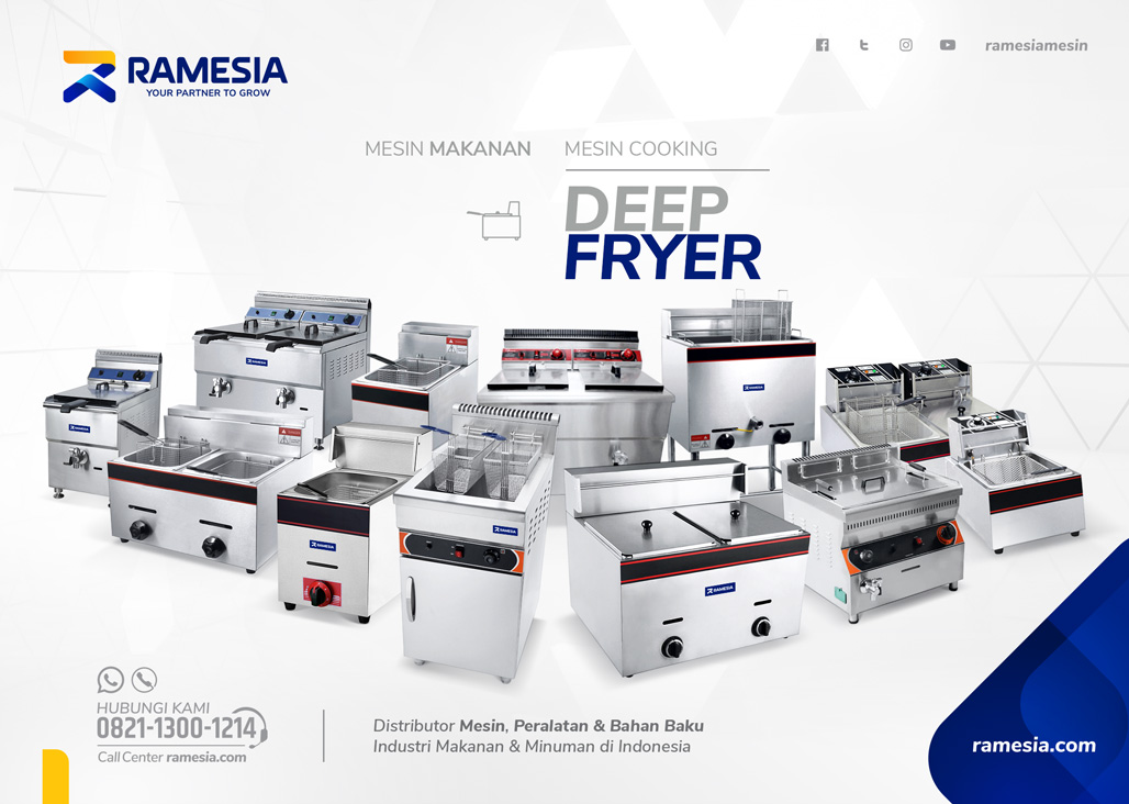 Deep Fryer Ramesia