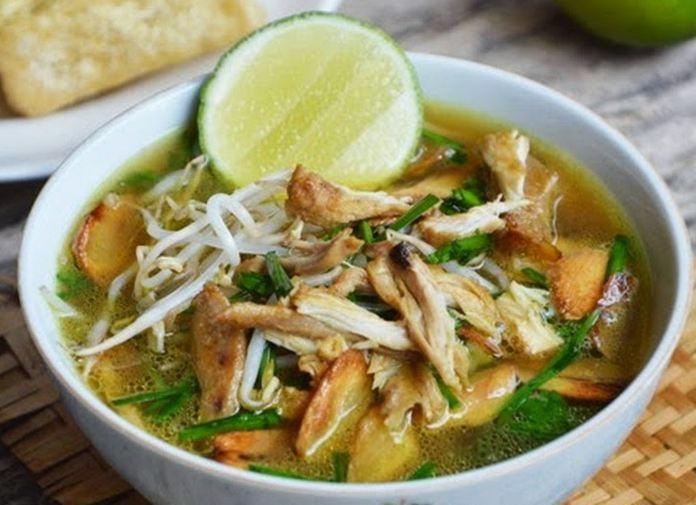 makanan khas semarang soto bangkong