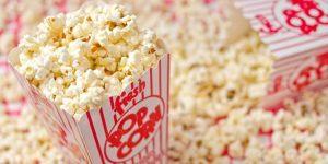 usaha dengan mesin popcorn