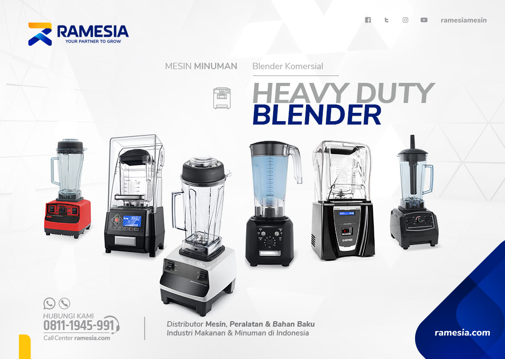 Blender Heavy Duty Ramesia